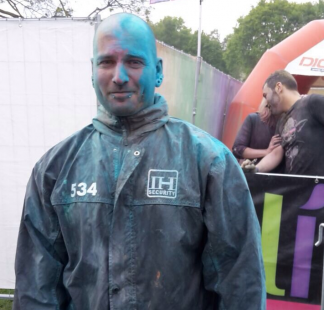 Festival Security Absperrgitter