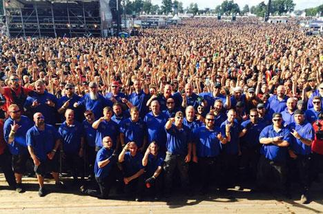 Wacken Security Absperrgitter 2017