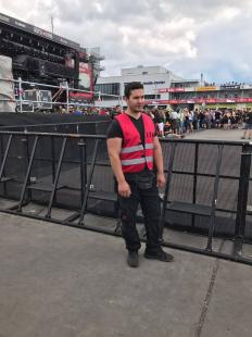 rockfestival security